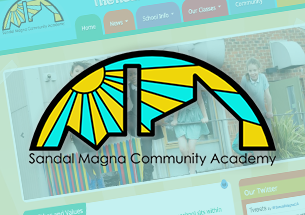 Sandal Magna Community Academy Website Refresh