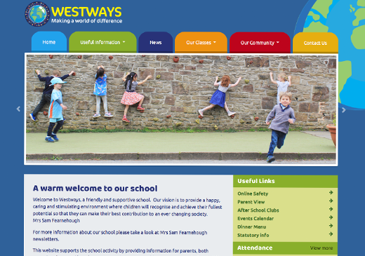Westways Primary School Website