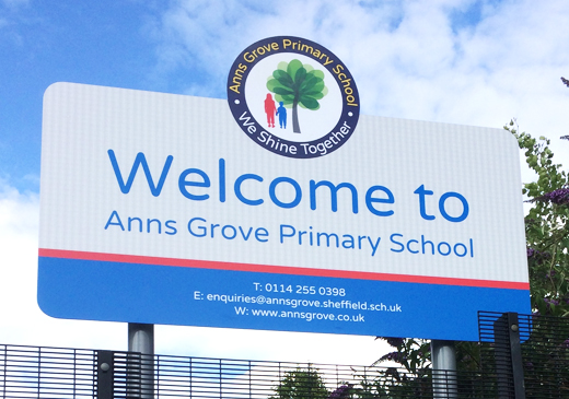 Anns Grove Signage