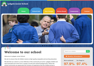 Lydgate Junior Website