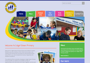 Lidget Green Primary School Website