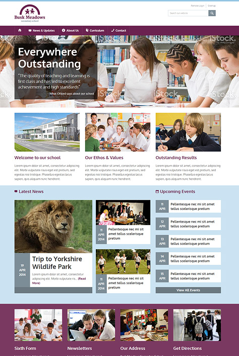 Wilsondene Secondary School Screenshot