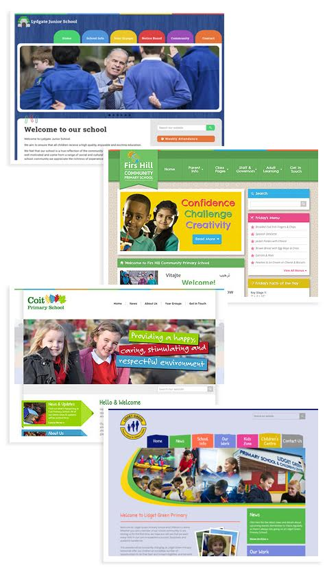 Great looking, easy to manage websites for Primary Schools